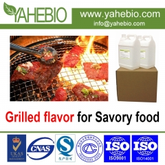 Grilled flavor for savory food
